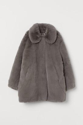 H&M Faux Fur Jacket