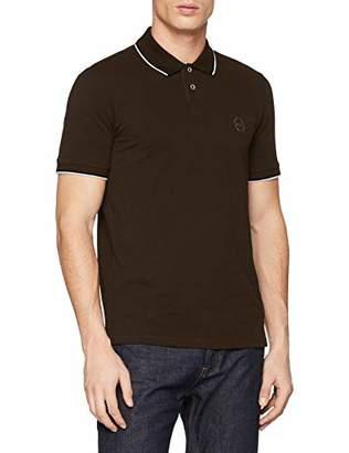 Armani Exchange A X Men's Short Sleeve Jersey Knit Polo