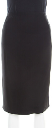 Jil Sander Black Pencil Skirt L