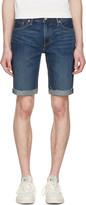 Levi's Levis Blue Denim Cut Off 511 Shorts