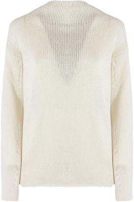 Dondup Cream Wool Blend Sweater
