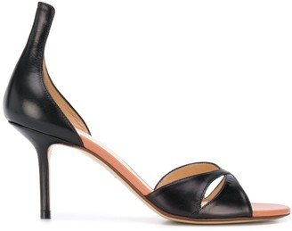Francesco Russo Cut-Out 80mm Sandals