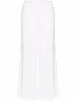 Skin Salma cropped cotton trousers