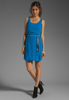 BB Dakota Hanover Woven Dress w. Belt