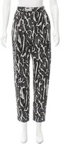 Proenza Schouler Patterned High-Rise Pants w/ Tags