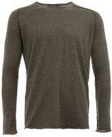 Roberto Collina exposed seam sweater