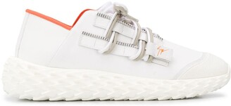 Giuseppe Zanotti Lace-Up Low-Top Sneakers