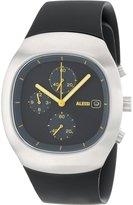 Alessi Men's AL21010 Ray Chronograph Polyurethane Black Designed by Stefano Giovannoni Watch