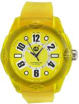 Tendence Women's 2013043 Rainbow Hi-Tech Polycarbonate Yellow Watch