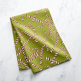 Crate & Barrel Candy Cane Dish Towel
