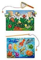 Melissa & Doug ; Fishing & Bug Catching Magnetic Game Bundle