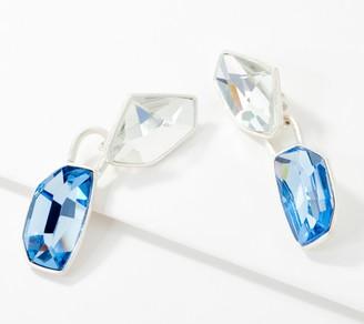 Susan Graver Crystal Drop Earrings