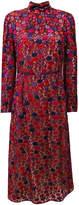Prada Anemone high collar dress