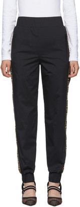 Fendi Black Forever Track Lounge Pants