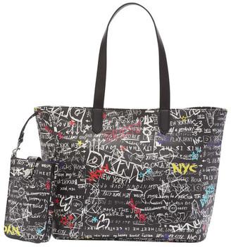 DKNY R01ANG78 Ashlee Double Handle Tote Bag