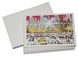 Michael Storrings Christmas On Fifth Avenue Cards