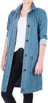 For the Republic Long Jean Jacket (For Women)