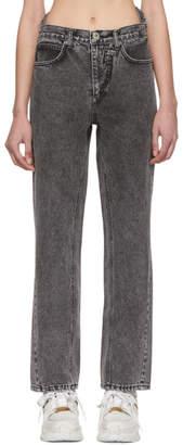 Pushbutton Black Bustier Jeans