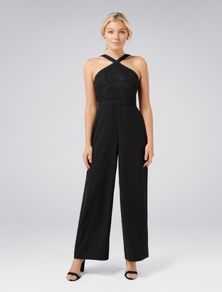 Ever New Ally Petite Lace Bodice Jumpsuit