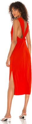 Helmut Lang Back Twist Dress