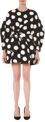 Carolina Herrera Polka-Dotted T-Shirt Dress