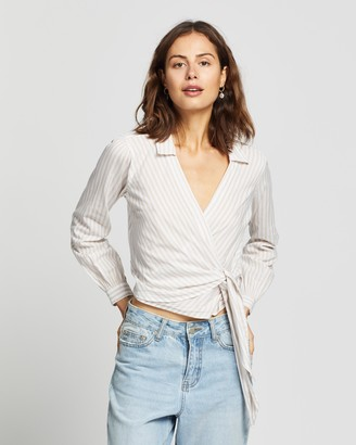 Abercrombie & Fitch Wrap Shirt
