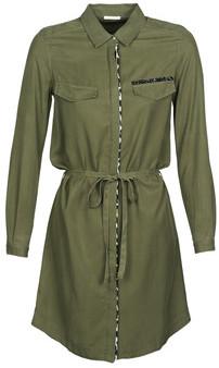 Ikks BQ30195-57 women's Dress in Kaki