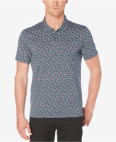 Perry Ellis Men's Big and Tall Floral-Print Polo