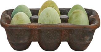 Jan Barboglio La Canasta de Huevos Carton of 6 Eggs