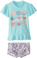 Seafolly Girls' S/S Rashguard Set (2T7) - 8164629