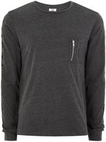 Hype Grey Pocket T-Shirt*
