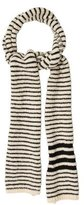 Thom Browne Striped Wool Scarf