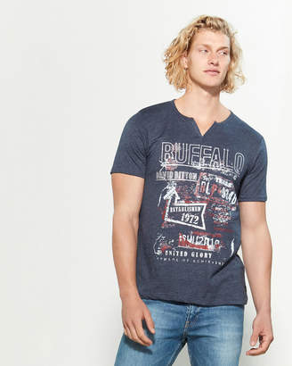 Buffalo David Bitton Noctis Texas Short Sleeve Tee