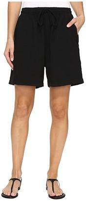 Fresh Produce Jersey Shorts (Black) Women's Shorts