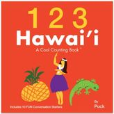 Bed Bath & Beyond 123 Hawaii: A Cool Counting BookTM by Puck