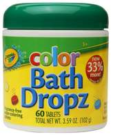 Crayola Color Bath Dropz Fragrance Free