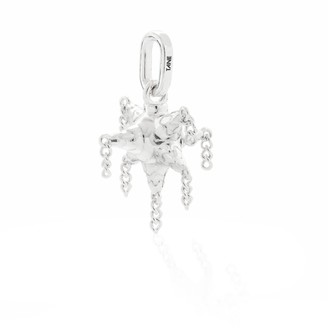 Tane Exquisitely Detailed Pinata Charm Handmade In Sterling Silver