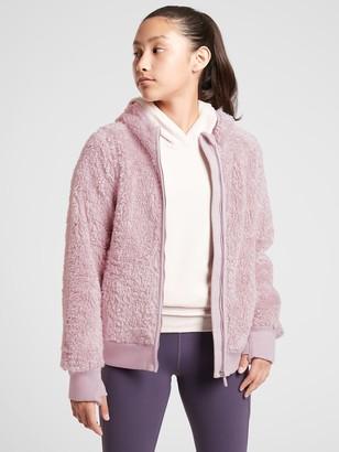 Athleta Girl So Snug Sherpa Jacket