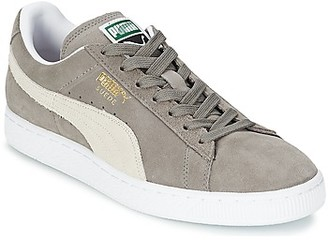 Puma SUEDE CLASSIC women's Shoes (Trainers) in Grey