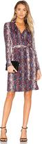 Diane von Furstenberg Jeannae Wrap Dress in Blue