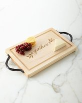 """Maple Leaf At Home Gather 18"""" Rectangle Cutting Board"""