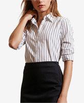 Lauren Ralph Lauren Petite Striped Long-Sleeve Shirt