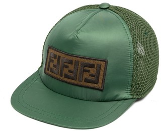 Fendi Kids Logo Patch Cap