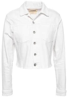 L'Agence Sequined Denim Jacket