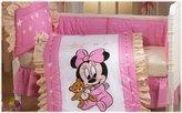 Kitty Disney Baby Minnie 5 Pc Crib Bedding Set- Seller