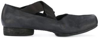 UMA WANG Low Block Heel Mules