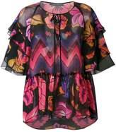 Alberta Ferretti printed blouse
