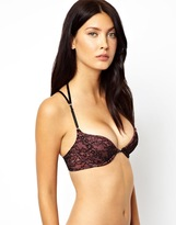 Marios Schwab Kallisti by for ASOS Inc Lace Plunge Cross Back Bra