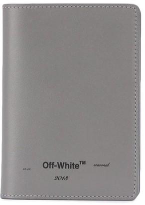 Off-White Off White logo passport wallet