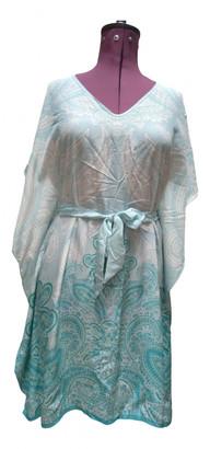 Charlotte Sparre Blue Silk Dress for Women